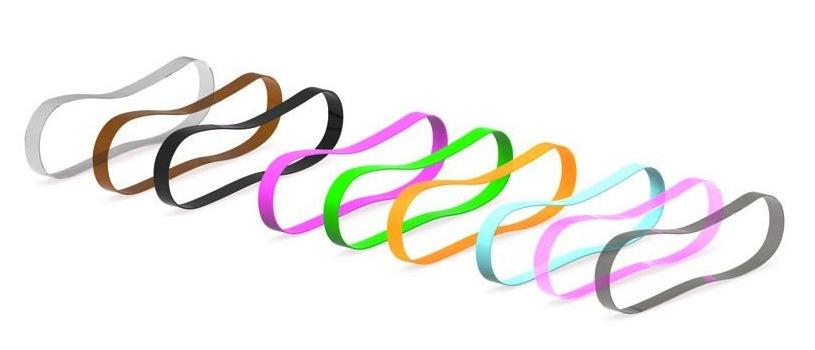 9 Single Coloured Hairbands 815x350