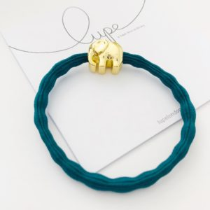 LUPE Gold Elephant Teal
