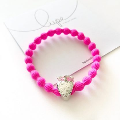 LUPE Silver Strawberry Neon Pink