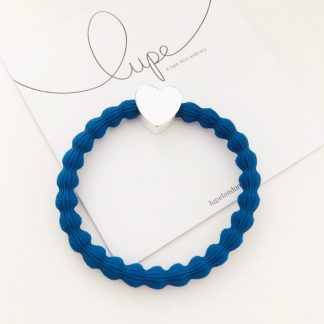 LUPE Silver Heart Cobalt