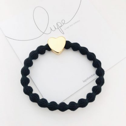 LUPE Gold Heart Black