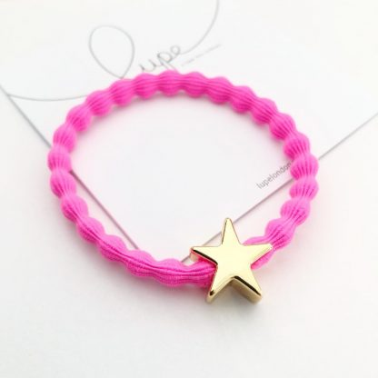 LUPE Gold Star Neon Pink