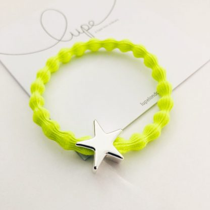 LUPE Silver Star Neon Lime
