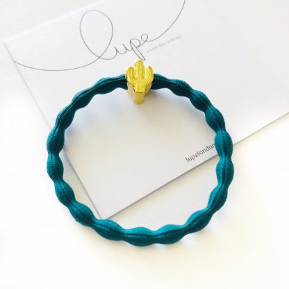 LUPE Gold Cactus Teal
