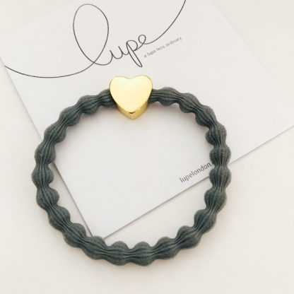 LUPE Gold Heart Grey
