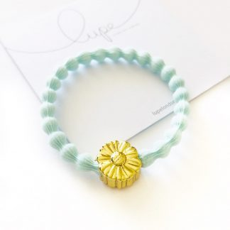 LUPE Gold Flower Aqua