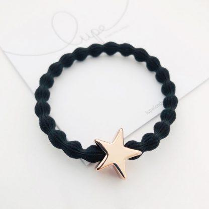 LUPE Rose Gold Star Black