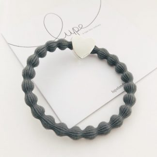 LUPE Silver Heart Grey