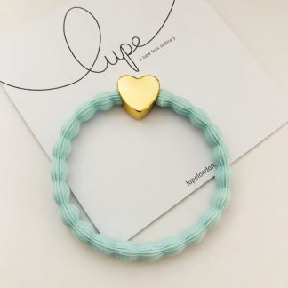 LUPE Gold Heart Aqua