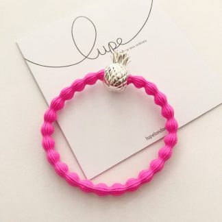 LUPE Silver Pineapple Neon Pink