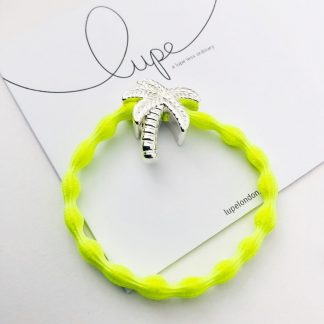 LUPE Silver Palm Tree Neon Lime