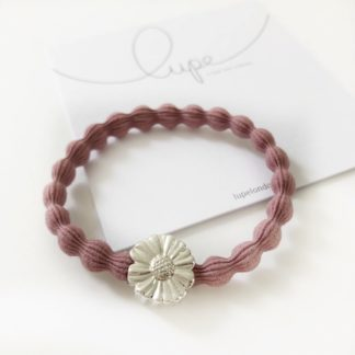 Lupe Flower Silver Blush