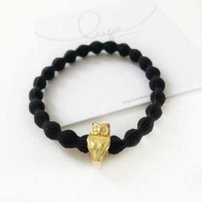 Lupe Owl Gold Black