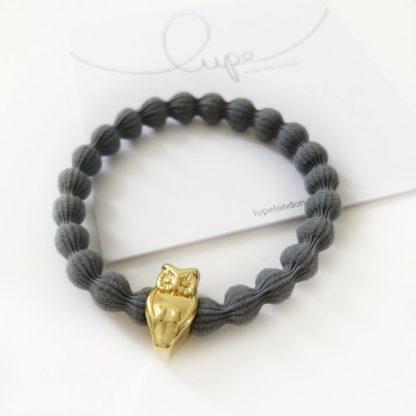 Lupe Owl Gold Dark Grey