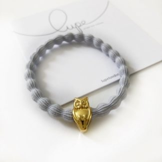 Lupe Owl Gold Light Grey