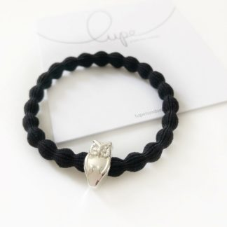 Lupe Owl Silver Black