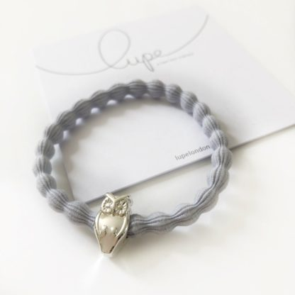 Lupe Owl Silver Light Grey