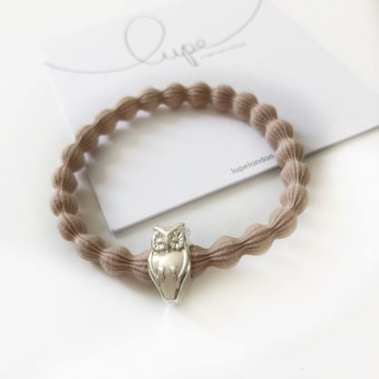 Lupe Owl Silver Taupe
