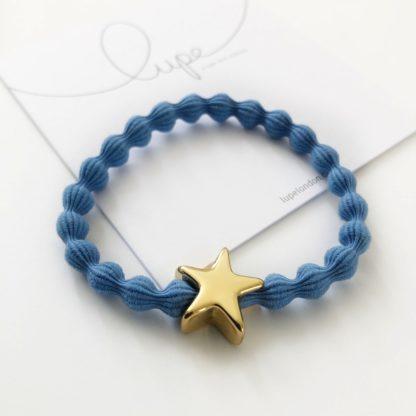 Lupe Star Gold Denim