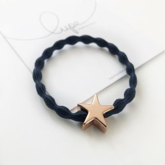 Lupe Star Rose Gold Navy