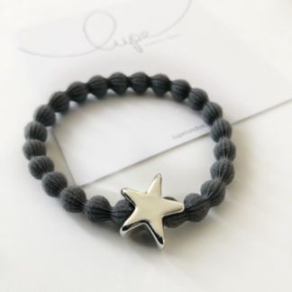 Lupe Star Silver Dark Grey
