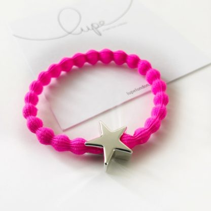 Lupe Star Silver Neon Pink