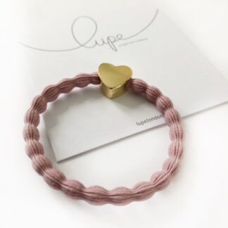 Lupe Heart Blush Gold