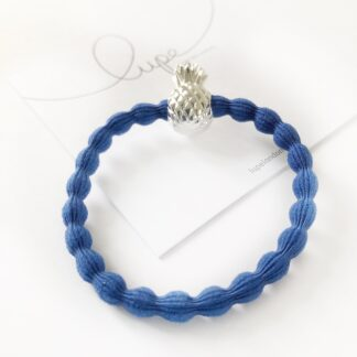 Lupe Pineapple Cobalt Silver