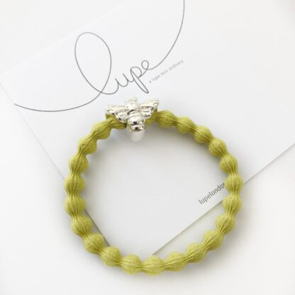 Lupe Bee Mustard Silver