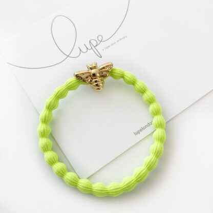 Lupe Bee Neon Lime Gold