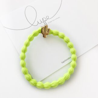 Lupe Cactus Neon Lime Gold